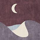 LANDSHAPES / Wüste - Nacht von Daniel Coulmann