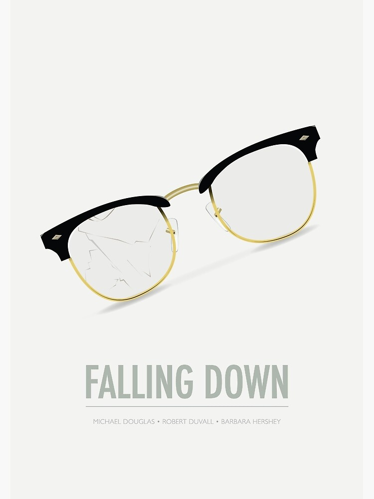 Falling Down - Alternative Movie Poster by MoviePosterBoy