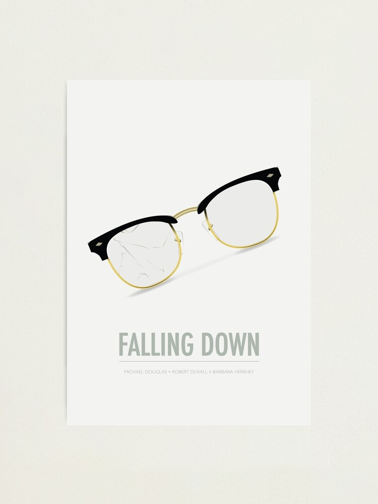 Alternate view of Falling Down - Alternative Movie Poster Photographic Print