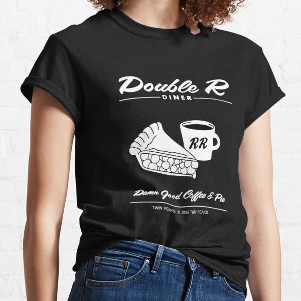 Double R Diner - Twin Peaks Classic T-Shirt