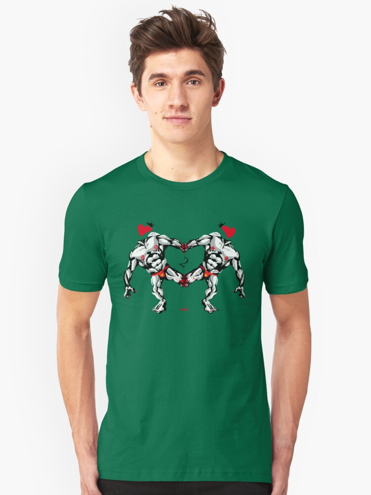 Two of Hearts Unisex T-Shirt Front
