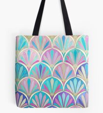 Bolsa de tela Glamorous Twenties Art Deco Pastel Pattern