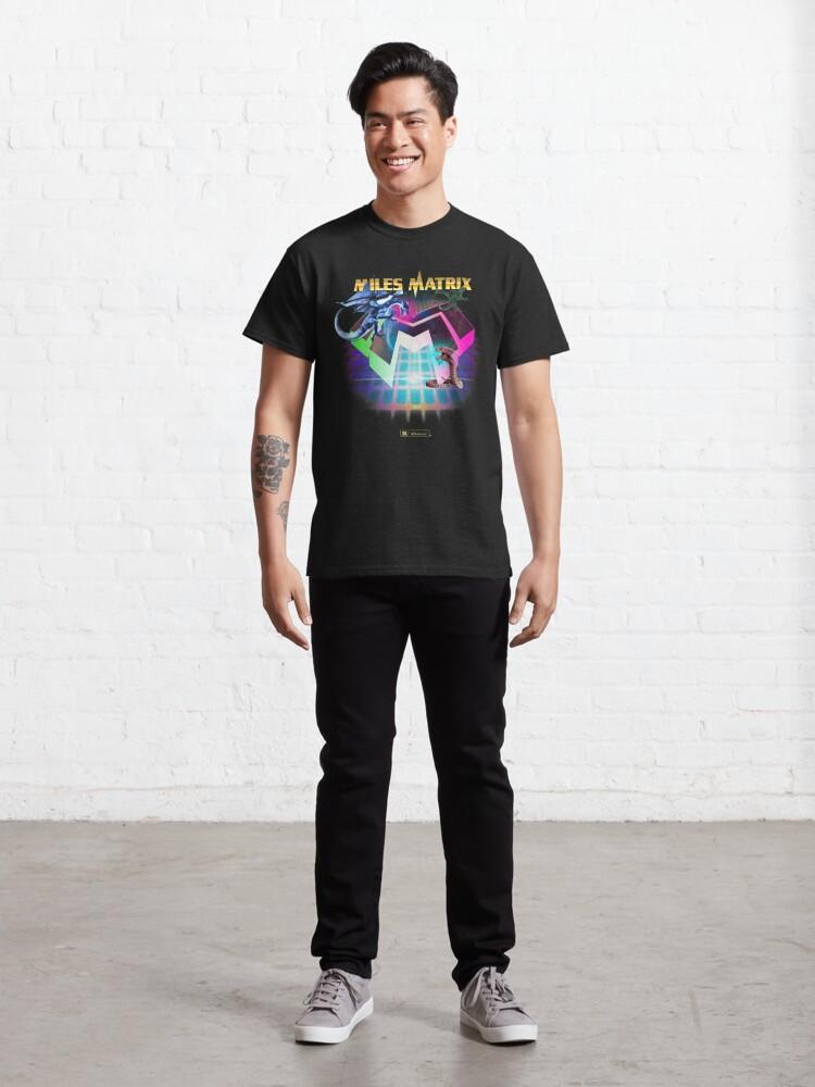 """Alternative Ansicht von Miles Matrix """"The Power of Synthwave"""" Classic T-Shirt"""