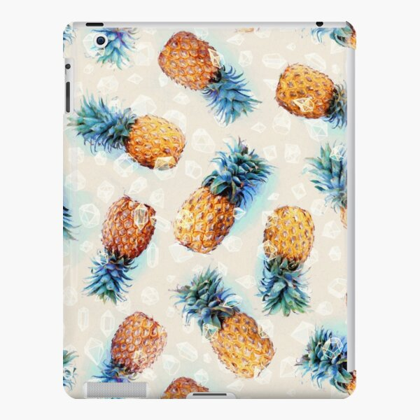 Pineapples + Crystals iPad Snap Case