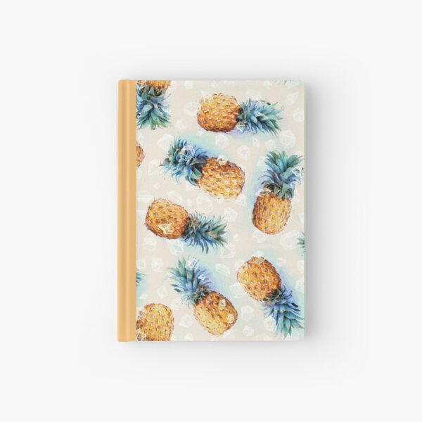 Pineapples + Crystals Hardcover Journal