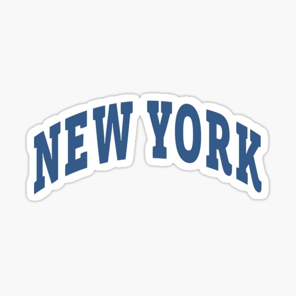 New York Capital Sticker