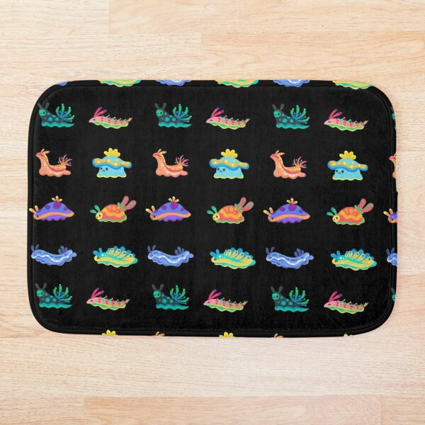 Sea slug Bath Mat
