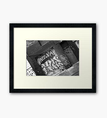 Urban Culture Framed Print