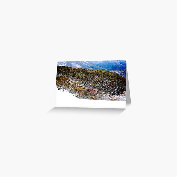 Hotham Heights Greeting Card