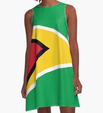 Guyana Flag T-Shirt - Guyanese Sticker A-Line Dress