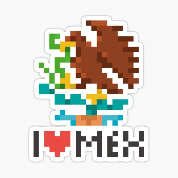 I heart Mexico Sticker