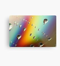 CD Rainbow Metal Print