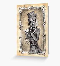 Dead kitty (sepia) Greeting Card