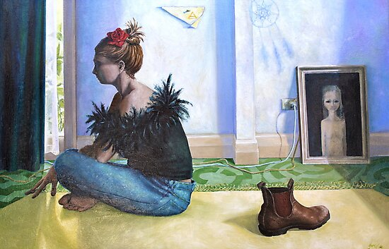 Air, oil on canvas, 2005. by fiona vermeeren