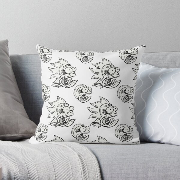 Rick and Morty™ Space / Time Travel Warping  Throw Pillow