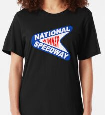 National Speedway Winner Shirt Slim Fit T-Shirt
