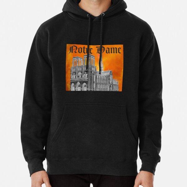 Le Feu de Notre Dame  Pullover Hoodie