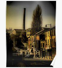 Burnley. Lancashire. Poster