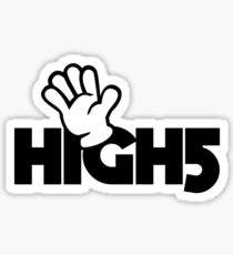 High 5 Sticker