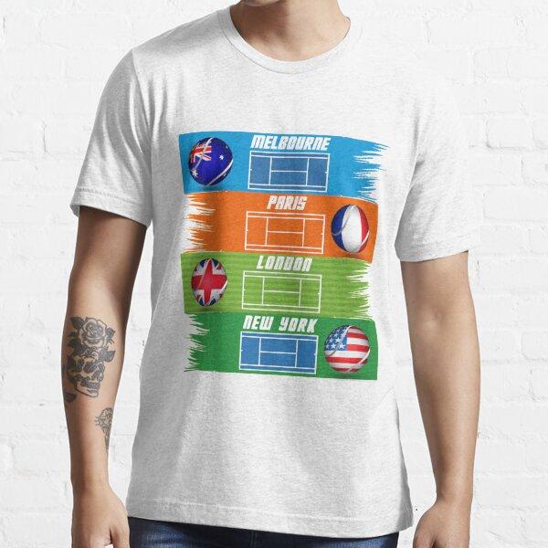 Tennis Grand Slam all around the world Essential T-Shirt
