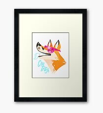 Cool Trash Framed Print