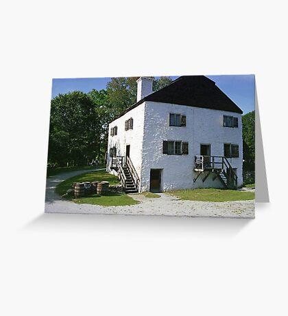 Philipsburg Manor, Tarrytown, New York  Greeting Card