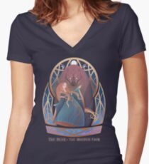 The Bear & The Maiden Fair Fitted V-Neck T-Shirt