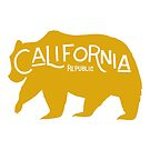 California Golden Bear by Michelle Arguelles