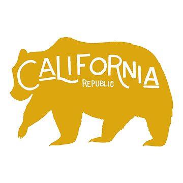 California Golden Bear by arguellm