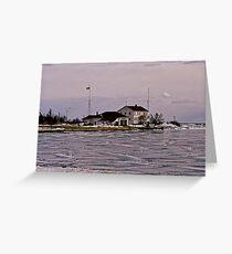 Coast Guard Station Greeting Card
