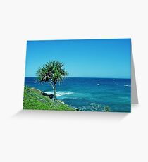 Point Arkwright Pandanus Greeting Card