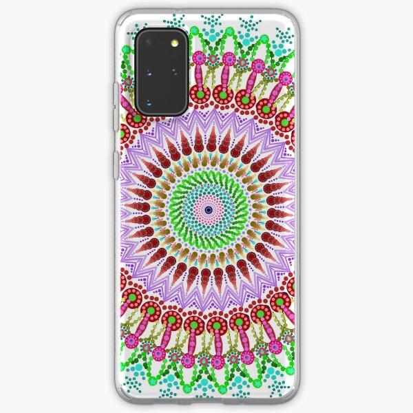 Full bloom Mandala Samsung Galaxy Soft Case