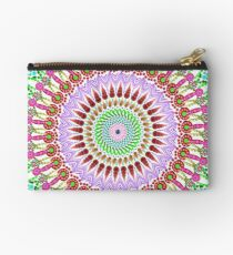 Full bloom Mandala Zipper Pouch
