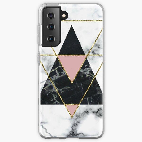 Geo glam marble Samsung Galaxy Soft Case