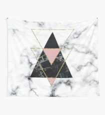 Geo glam marble Wall Tapestry