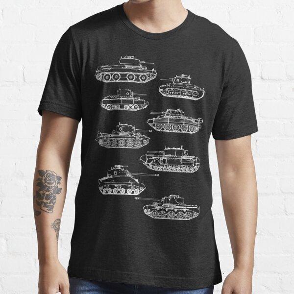 British tanks of World War II Essential T-Shirt