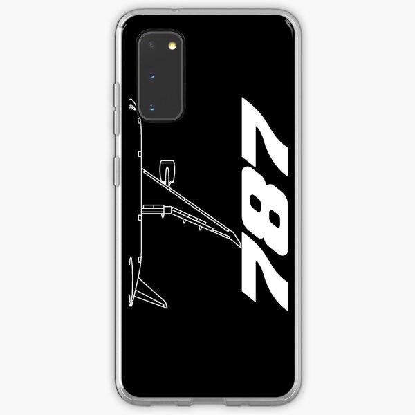 Boeing 787 Top View Samsung Galaxy Soft Case
