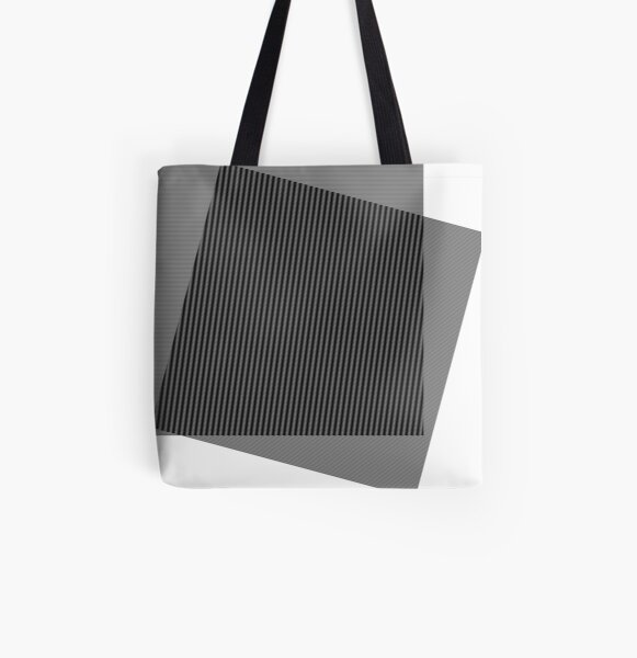 #Squares #Black #White #Stripes Intersections Rug Symbol Design Illustration sign shape All Over Print Tote Bag