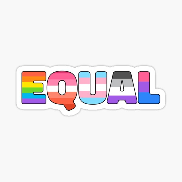 LGBT Pride Equality Matters Sticker