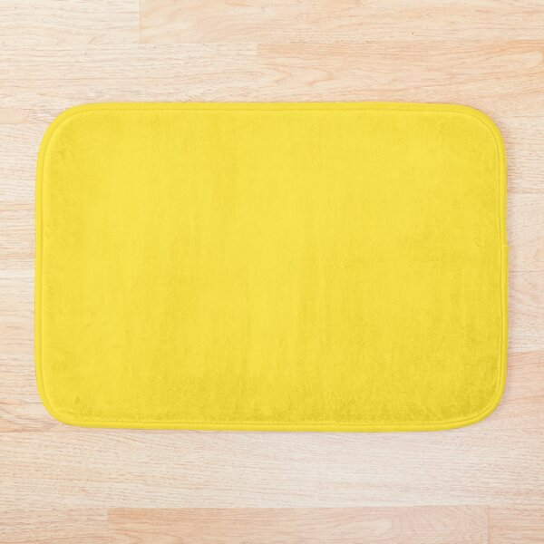 All imperial yellow Bath Mat