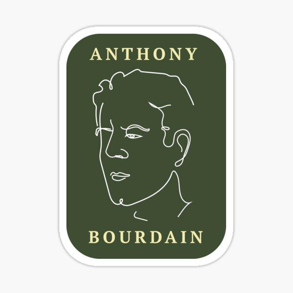 Savánt: Anthony Bourdain Sticker