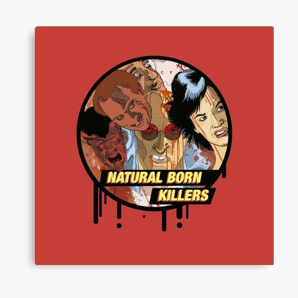 Art Print Poster Canvas Natural Born Killers Classic Horror Movie