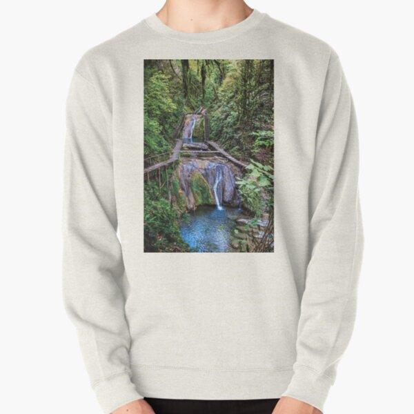 Valley of 33 waterfalls Pullover Sweatshirt