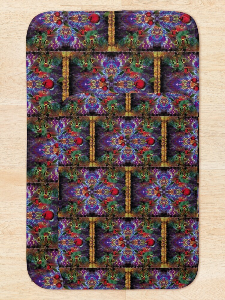 Alternate view of Vision with Tulips Bath Mat