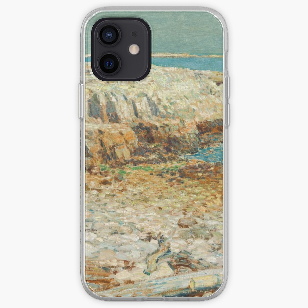 A North East Headland Oil Painting by Childe Hassam iPhone Case & Cover