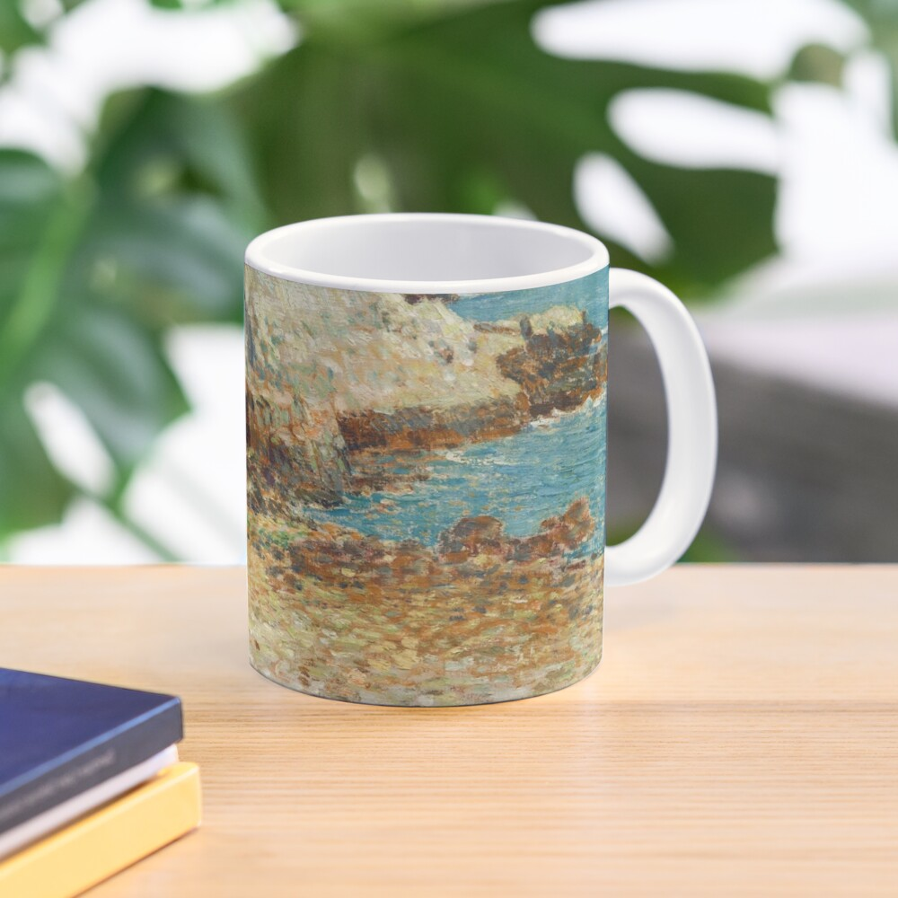 A North East Headland Oil Painting by Childe Hassam Mug