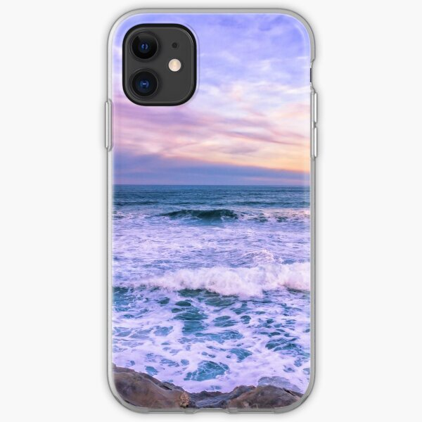 Sunset of the Bay of Biscay  iPhone Soft Case