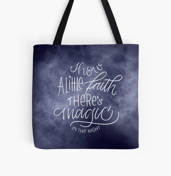 Magic in the Night All Over Print Tote Bag