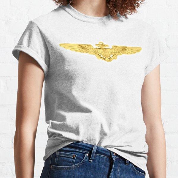 USMC. Aviation Insignia, Naval Aviator, Badge. Classic T-Shirt
