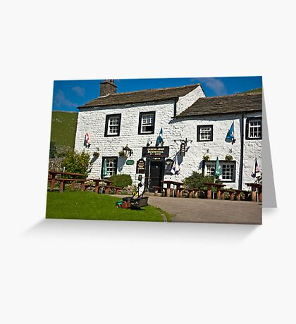 Queens Arms - Litton Greeting Card